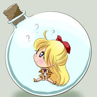 Bottled Minako by x--lalla--x