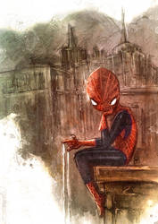 spidey fanart... by neurotic-elf