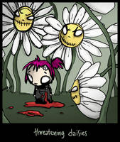 the daisy nightmare.. by neurotic-elf