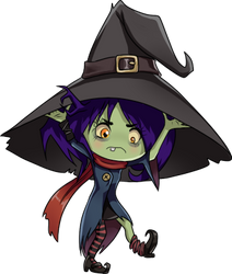 Day 6 Witch by OzeWolfy