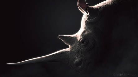 Rhino by kylecbastian