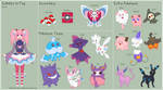 Pokemon - Isabella Reference Sheet by theRainbowOverlord