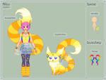SugarFox - Mitsu Reference Sheet by theRainbowOverlord