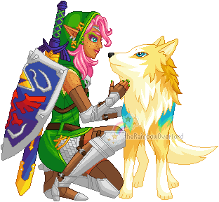 From One Hero to Another by theRainbowOverlord