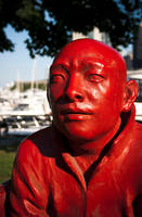 Red Monk by paconavarro