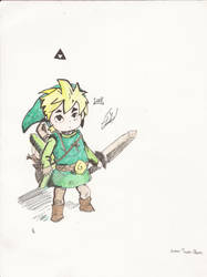 Toon Link by D98ART