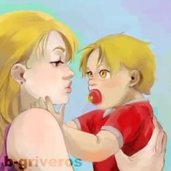 Hawk mama by B-Griveros