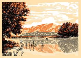Lake by gafana
