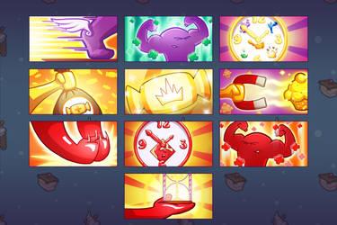 JTC UP Icons by gafana