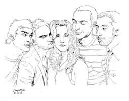 The Big Bang theory by Samvinci