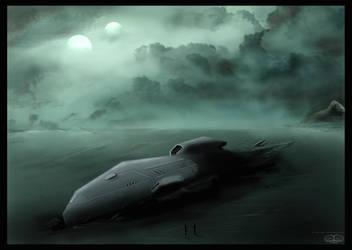 Shipwreak Prometheus by Samvinci