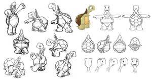 Turtle Model Sheet by bmaras