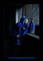 Blue Corrosion 1 by LadyDeathDemon
