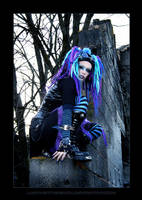 Blue Corrosion 3 by LadyDeathDemon