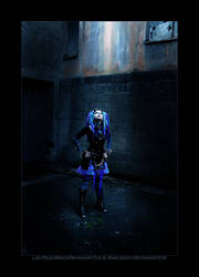 Blue Corrosion 5 by LadyDeathDemon
