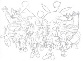 Sonic Adventure 2 team by Vortex-TC