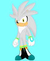 Silver the Hedgehog by Vortex-TC