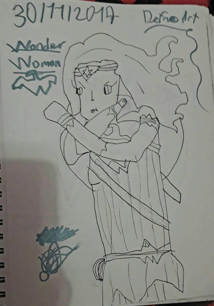 Wonder Woman (DCEU) by DefnoArt
