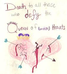 The Queen of (Broken) Hearts by princesswanderer