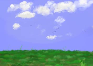 Background/ Landscape test by chuckyzoopa