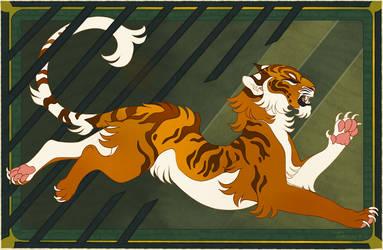 The Tiger by Tikrekins