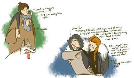 Bran by morwenden