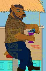 [Commission] Tiki Bear by tygerwolfe