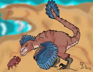 [Patron Reward] Crab Beach by tygerwolfe