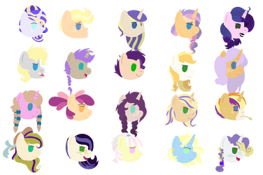20 Rarijacks by Cinnamon-Swirls