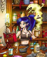 Lera's Bad Alchemy by Artraccoon
