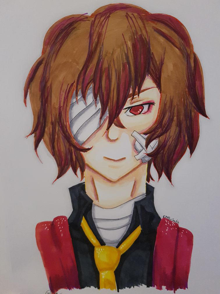Happy Birthday Dazai 2018 by Bella-Mia-D