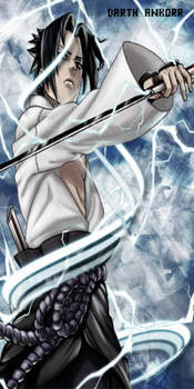 Uchiha Sasuke Chidori by Monnario