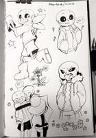 undertale (sketch) by May-ku