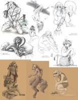 Anthro collage by Saimain