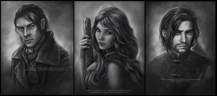 Commission Portraits -Set 3 by Saimain