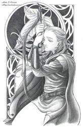 LotR: Legolas by Saimain