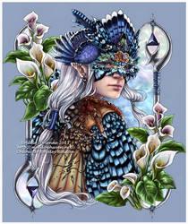 Masquerade: Bluebird by Saimain
