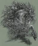 Moss Lord by Saimain