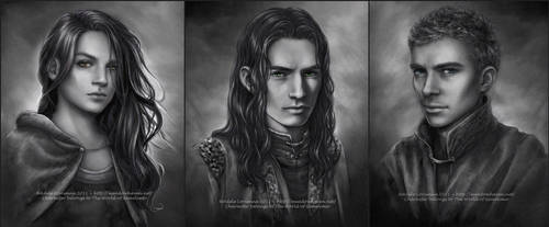 Commission Portraits -Set 6 by Saimain