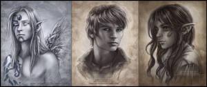 Commission Portraits by Saimain