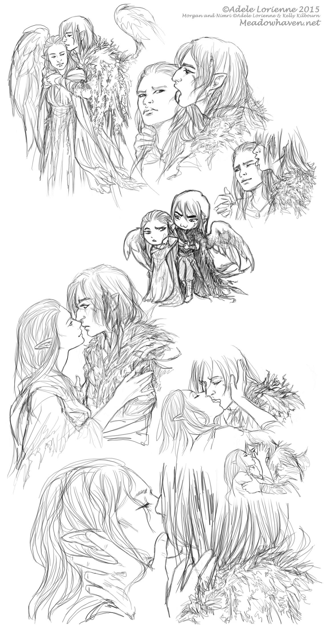 Kissing Lessons by Saimain