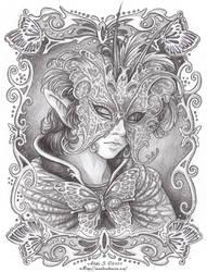 Masquerade: Winged Grace by Saimain