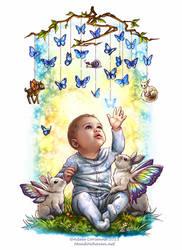 Baby Blue by Saimain