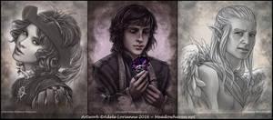 Commission Portraits IV by Saimain