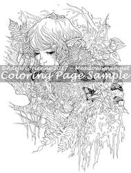 Art of Meadowhaven Coloring Page: Stillness by Saimain