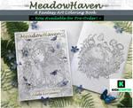 MeadowHaven Fantasy Coloring Book by Saimain