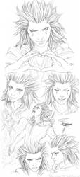 Wildfire -Axel Sketchpage- by Saimain