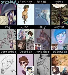 2014 Summary Of Art by nautcious