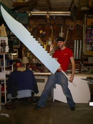Great knife in progress. by Akushin