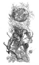 Rahu Werewolf by Abi909